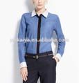 mangas largas pintuck camisa formal para las mujeres