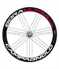 Top venta de carretera de carbono ruedas de bicicleta, de alta calidad de carbono ruedas de carretera