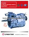 Boîte de vitesses ZF pièce de rechange pour camion HOWO 5S-111GP