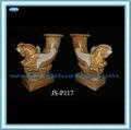 mão esculpida em mármore de inicialização colorido mini vaso