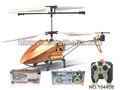 Helicóptero 3.5ch rc del metal, sistema de giroscopio, el 95% de metal, líder en el mercado