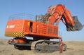 China mejor diesel/hidráulico/eléctrica cara pala excavadora ce1000-7 de fabricación