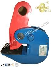Las ventas caliente placa horizontal de elevación abrazaderas( dhq) 0.75 tonelada a 5 toneladas