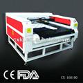 CX160100 acrílico cortadora del laser hecha en China