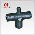 el cruce de polietileno de alta densidad de accesorios para tuberías de agua accesorios de tubería de suministro de agua