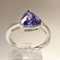 China al por mayor joyería de plata de color topacio azul piedra anillos de boda-3.5 g de joyería de moda aceptado por paypal