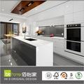Proyecto whosales gabinete de cocina para venta fábrica de Foshan