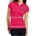Ropa de moda para mujer adulta polo t- shirt