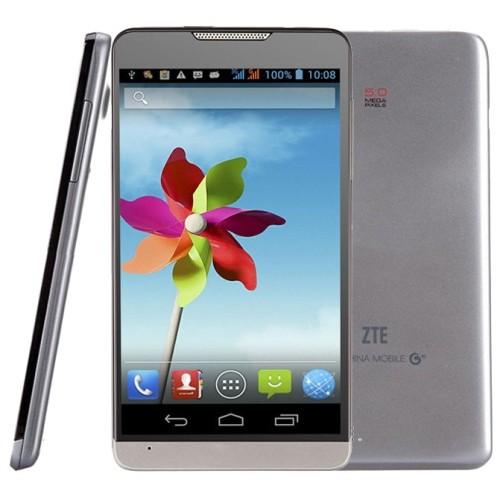Original móvil 3 g tarjeta sim dual ZTE U879 teléfono inteligente 5.0 grande