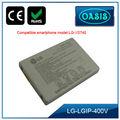 Li-ion recargable de la batería del teléfono móvil inteligente de la batería para LGIP- 400V