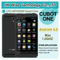 4.7 ips pulgadas cubot one de cuatro núcleos con android 4.2 mtk6589 cpu dual tarjetas sim dual de la leva 3g 1gb+8gb gps teléfo