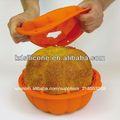 De calabaza de silicona 3d molde de la torta, lindo diseño de halloween bandeja de la torta moldes proveedor