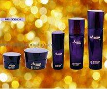 elegante cosméticos botella de vidrio