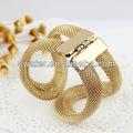 nuevo producto de brazaletes de oro los últimos diseños de accesorios para el vestido de dama