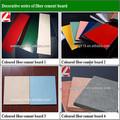 Coloré. fibre ciment conseil pour mur extérieur/4*8*( 3- 30) mm