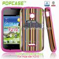 teléfono móvil de la cubierta protectora para huawei ascend y210
