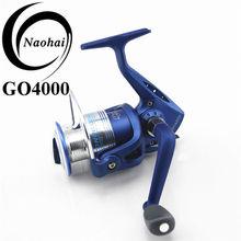 pesca carrete jigging Con Freno Delantero y fishing reel GO4000