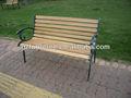madeira e ferro fundido banco de jardim banco do pátio