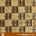 Antecedentes resina pared de mosaico