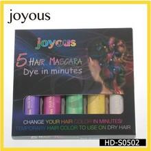 2014 más vendida asequible tinte de pelo BIGEN pelo de color tiza temporal de cabello natural tinte HD-S0502