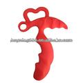 inventário flexível de silicone vibrando brinquedo do sexo para mulheres