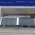18 tubos de vacío solar de agua tubos de calefacción