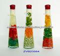 Frutas vinagre artesanía botella