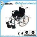 manual cadeira de rodas dobrável estável com rampa