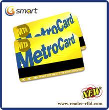 RFID tarjetas con tira magnética