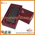 Elegance handmade paper box for phone case packaging