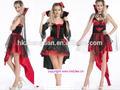 instyles fiesta de disfraces vestido de traje de mujer sexy cruel halloween vampiro adulto deluxe traje traje