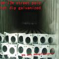 3m-18m poteaux en acier de forme octogonale/lampadaire de rue galvanisé
