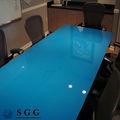 excelente calidad de la pintura de vidrio de mesa precio