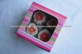 personalizado impresso copo caixas de bolo para lojas de bolo, bolo fabricantes, padeiros, confeiteiros, padarias