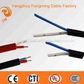 silicone de alta temperatura de iluminação elétrica do fio elétrico cabo