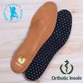 de cuero de piel de oveja ortótica la plantilla del zapato ( jzx005)
