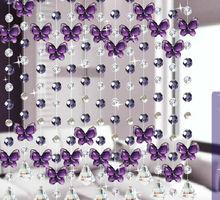 guarnição de cortina de contas de cristal,cortinas de cuentas decorativas OCX037