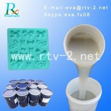material de silicona de caucho para moldes de vela de jabón y la fabricación de moldes