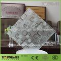Arte decorativo& de vidrio grabado al ácido de vidrio con china la fabricación