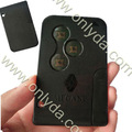 Renault Megane 3 buttons remote key/ auto key Megane remote card