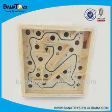 inteligencia juguete de madera laberinto de madera