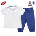 Kid esporte roupa venda quente fornecedores na china, boys camisa pólo camisa e calças