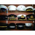 Sombreros de los militares de la policía del casquillo del bordado de la mano