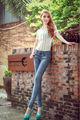 venta caliente nuevo diseño 2014 las mujeres jean