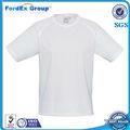 Venta al por mayor 100% Poliéster transpirable para hombre T Shirts - Blanco