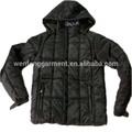 2014 para hombre chaqueta de algodón
