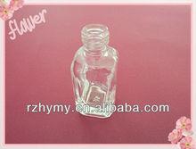 2013 nuevo estilo de esmalte de uñas aceite de botella de vidrio de la fábrica