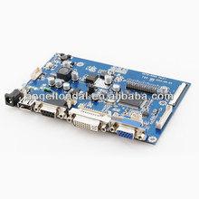 tablero de anuncios para de temperatura industrial panel lcd, placa base industrial