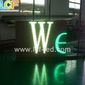 LED P7.62/P8/P10 precio cartelera costo effictive módulo para la venta caliente destacando venta