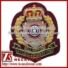 bordado de insignias